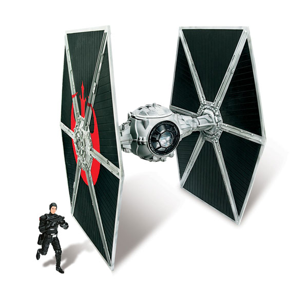Image: Star Wars: 'Ecliptic Evader' Droid Tie Fighter PX Vehicle  -