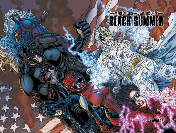 Image: Black Summer HC  - Avatar Press Inc