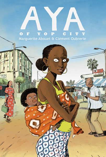 Image: Aya of Yop City HC  - Drawn & Quarterly
