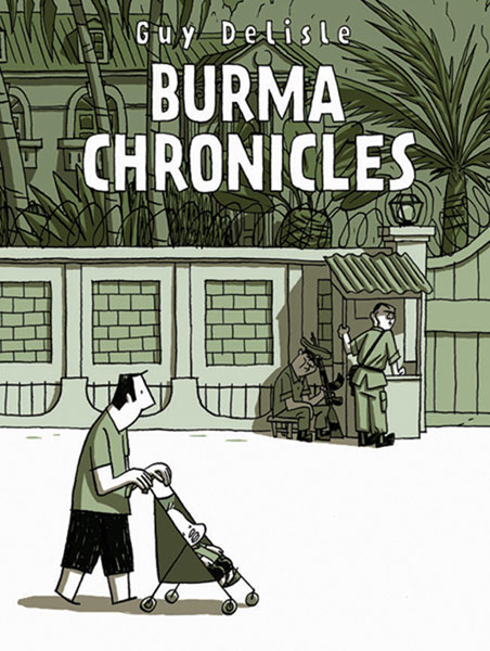 Image: Burma Chronicles HC  - Drawn & Quarterly