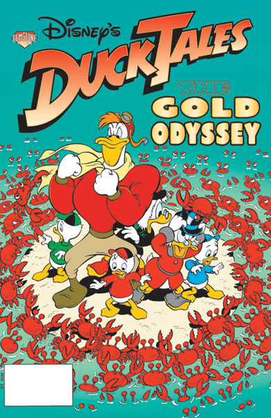 Image: Disneys Ducktales: The Gold Odyssey SC  - Gemstone Publishing