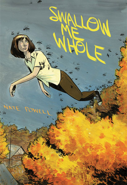 Image: Swallow Me Whole HC  - Top Shelf Productions
