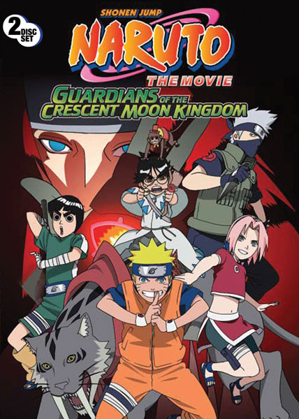 Image: Naruto the Movie: Guardians of the Crescent Moon Kingdom  (DVD) -