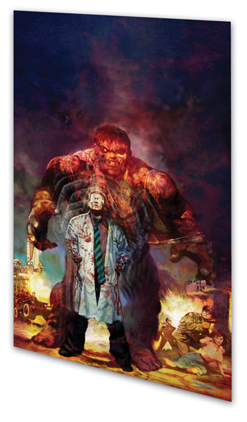Image: Marvel Zombies - Direct Market Hulk cover SC  - Marvel Comics