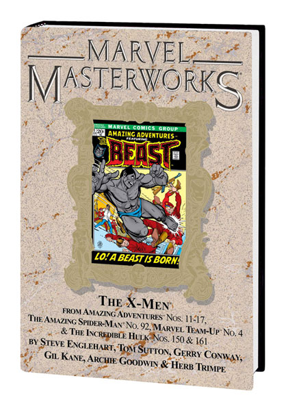 Image: Marvel Masterworks Vol. 105: X-Men  (Amazing Advs. #11-17, etc) (variant hc) - Marvel Comics