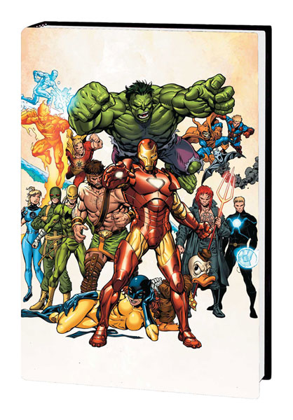 Image: Official Handbook of Marvel Universe A to Z Vol. 05 HC  - Marvel Comics