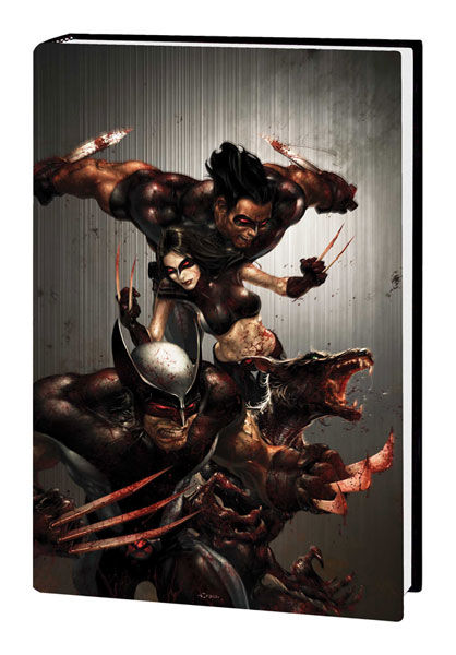 Image: X-Force Vol. 01: Angels and Demons  (hc - Bloody variant) - Marvel Comics