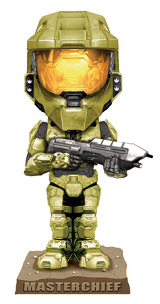Image: Halo 3 Wacky Wobbler  Bobble-Head: Master Chief  -