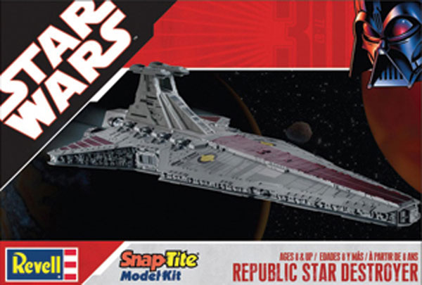 Image: Star Wars Republic Star Destroyer Model Kit  -