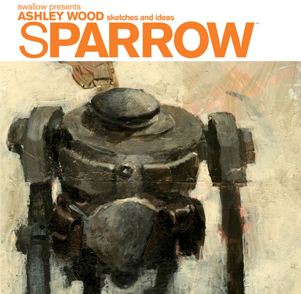 Image: Sparrow Vol. 00: Ashley Wood - Sketches & Ideas HC  - IDW Publishing