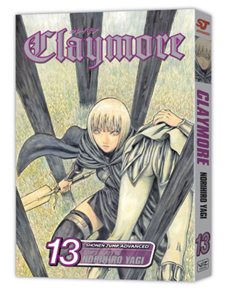 Image: Claymore Vol. 13 SC  - Viz Media LLC