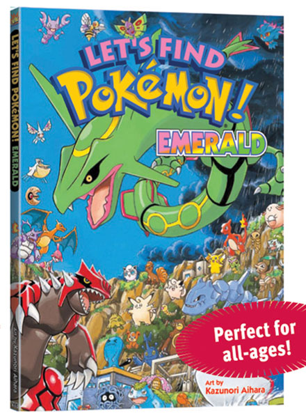 Image: Let's Find Pokemon! Emerald HC  - Viz Media LLC