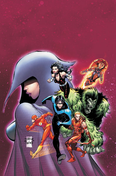 The former teen heroes known as the Teen Titans are all grown up and under ...