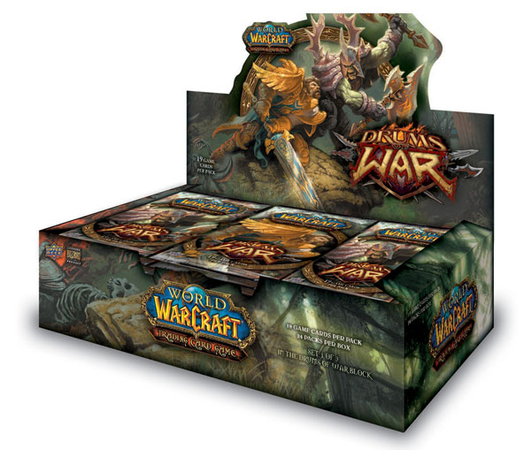 Image: World of Warcraft TCG: Drums of War  - Upper Deck Company