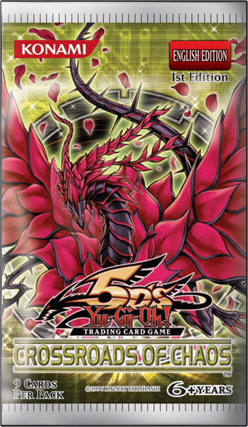 Image: Yu-Gi-Oh! TCG: 5Ds Crossroads Chaos Booster Box  - Upper Deck Company