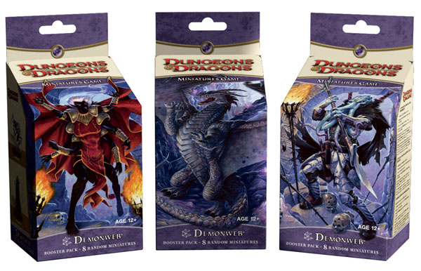 Image: D&D Minatures Game Booster Pack: Demonweb  - Wizards of the Coast