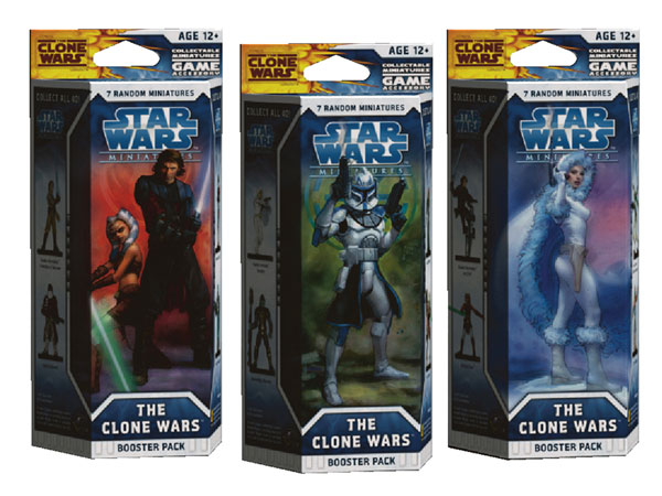 Image: Star Wars CMG: Clone Wars Booster Pack  - Wizards of the Coast