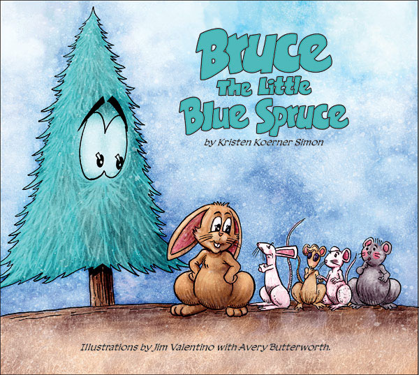 Image: Bruce: The Little Blue Spruce HC  - Image Comics