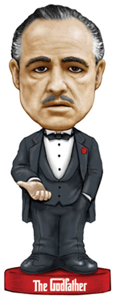 Image: Godfather Wacky Wobbler Talking Bobblehead  -