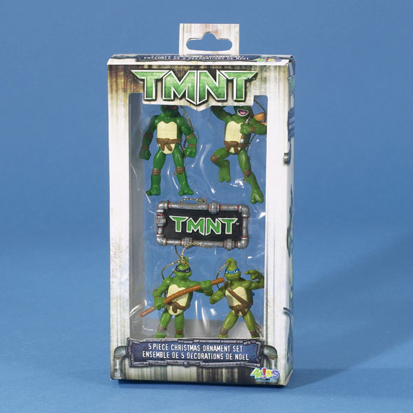 Image: Tmnt Miniature 5-Piece Miniature Ornament Set  -