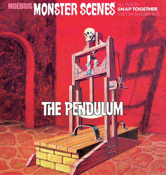 Image: Moebius Monster Scenes Snap Together Model Kit: The Pendulum  -