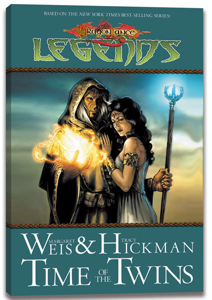 Image: Dragonlance Legends Vol. 01: Time of the Twins SC  - D. D. P.