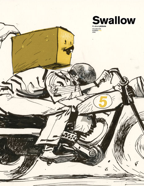 Image: Swallow Volume 1 Number  5  - IDW Publishing