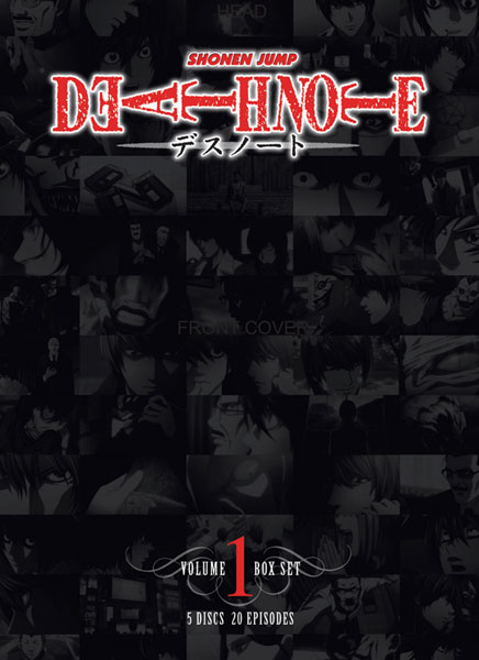 Image: Death Note Vol. 01 Box Set  (DVD) -