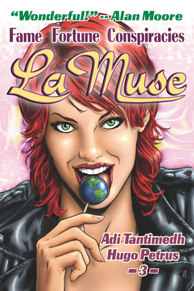 Image: La Muse GN  - Bighead Press