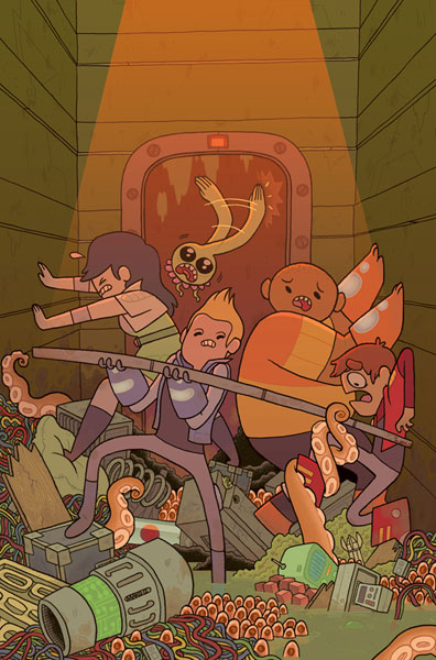 Bravest Warriors #1 (2-cover set)