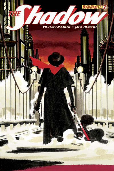 The Shadow #7 (4-cover set)