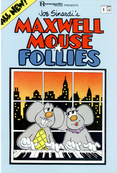Image: Maxwell Mouse Follies #1 - Renegade Press