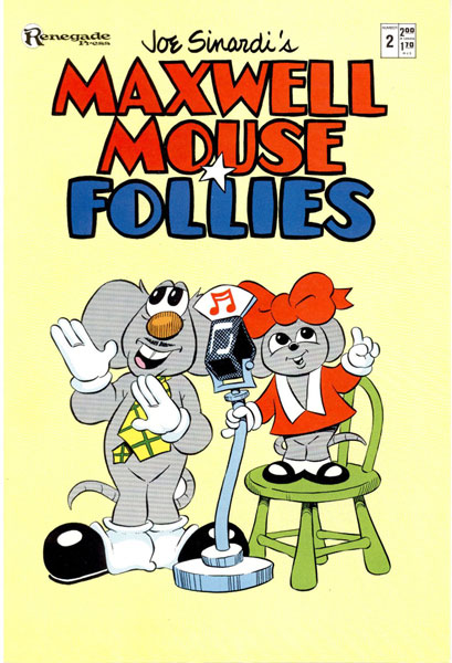Image: Maxwell Mouse Follies #2 - Renegade Press