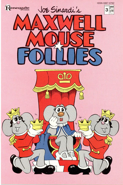 Image: Maxwell Mouse Follies #3 - Renegade Press