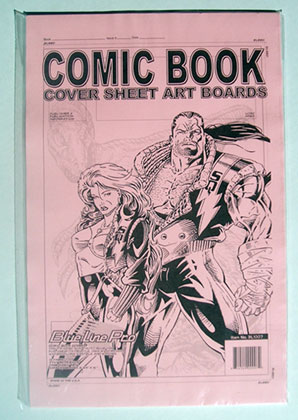 Image: BLP Comic Book Cover Sheet Art Boards  (12) -