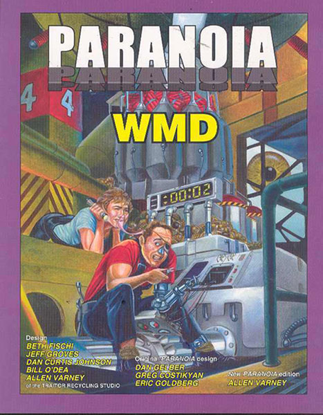 Image: Paranoia RPG: WMD  -