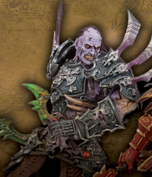 Image: World of Warcraft Series 3 Action Figure: Skeeve Sorrowblade.
