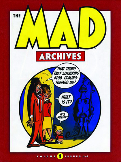 Image: Mad Archives Vol. 01: Issues 1-6 HC  - DC Comics
