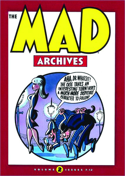 Image: Mad Archives Vol. 02: Issues 7-12 HC  - DC Comics