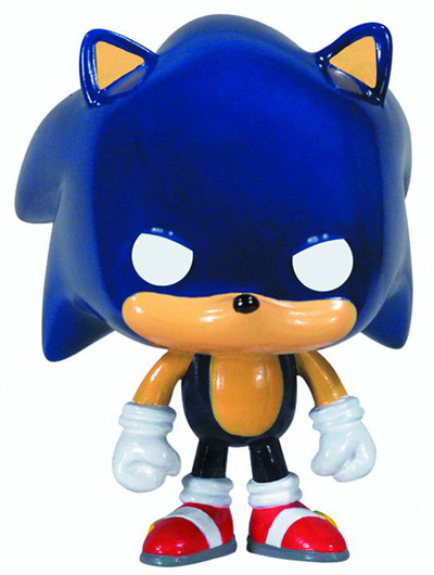 pop  sonic vinyl figure  sonic the hedgehog