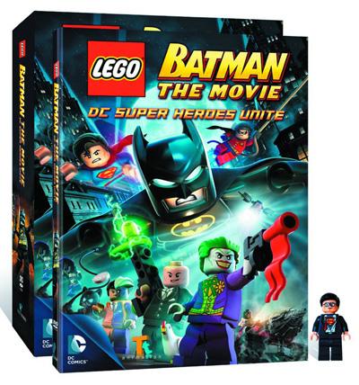 Image lego batman the movie dc super heroes unite dvd minifig