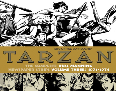 Tarzan: The Complete Russ Manning Newspaper Strips Volume 3: 1971-1974