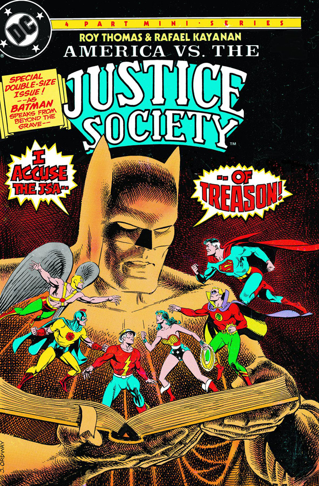 America vs. The Justice Society of America