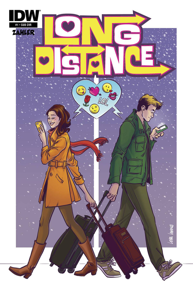 Long Distance #1. Lora Innes Subscription Cover