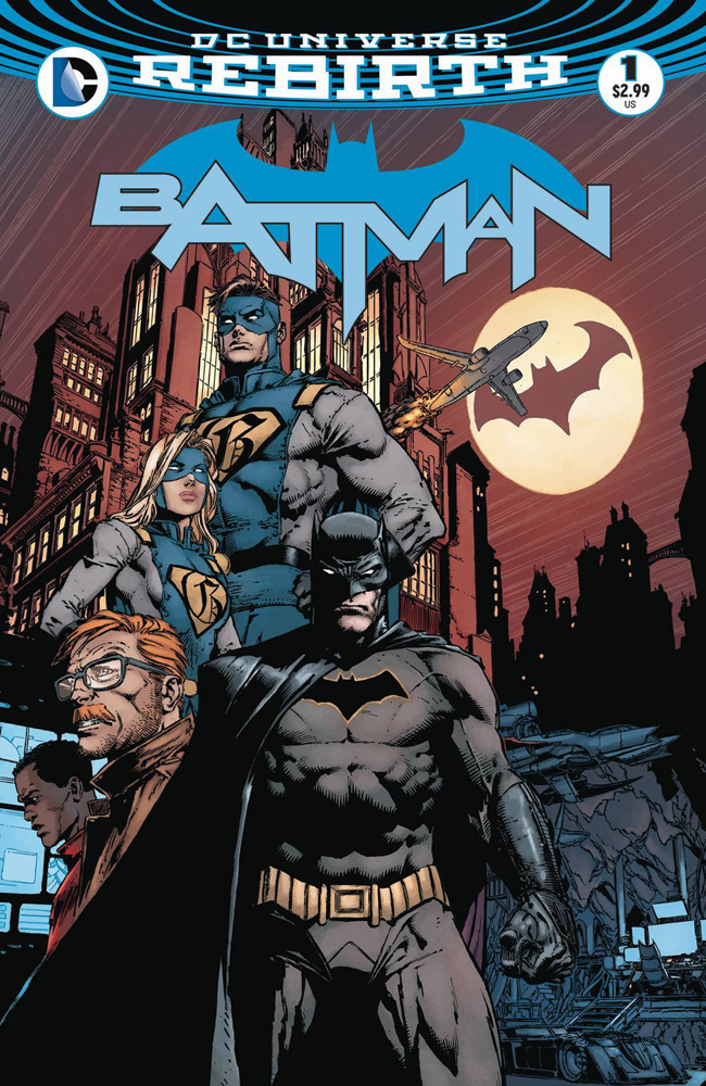 2016's Batman #1, which came after 2011's Batman #1. This could get confusing.