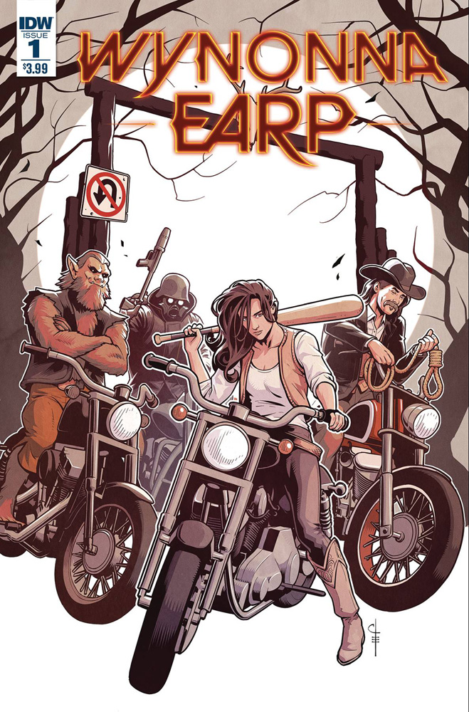 Wynonna Earp: Season Zero #1. Chris Evenhuis cover.