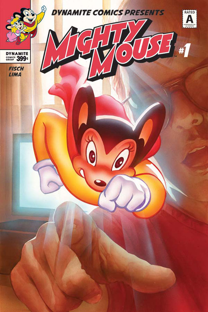 Mighty Mouse #1 Alex Ross cover