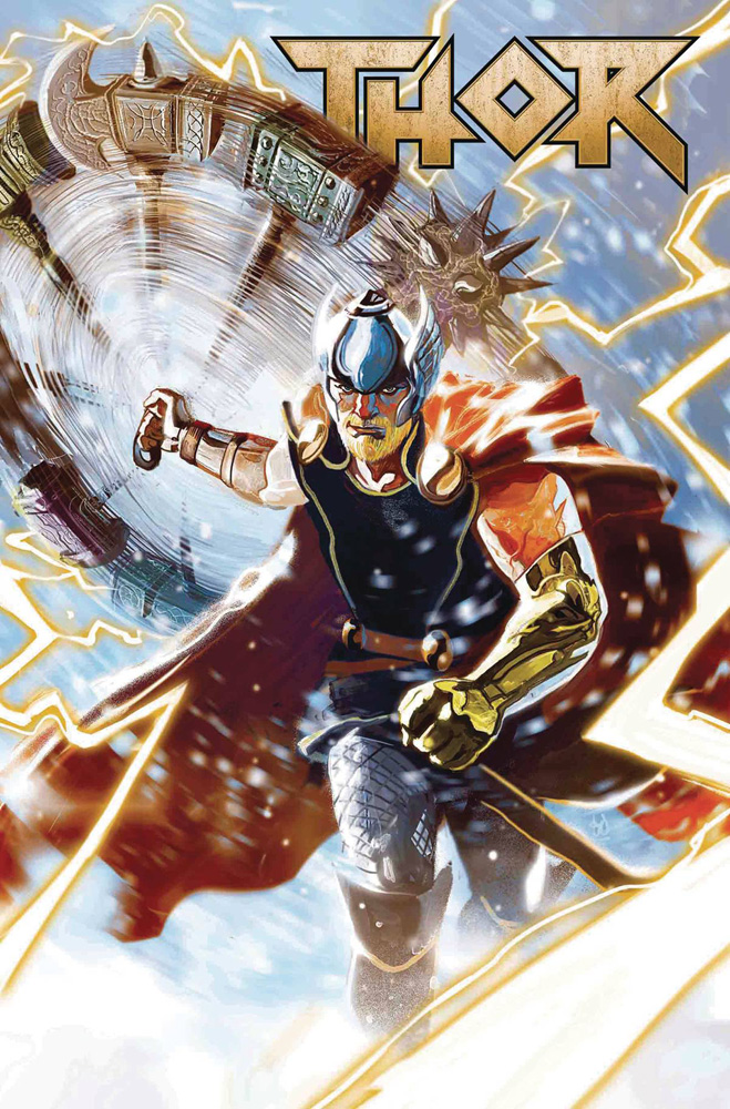 Thor #1, the next evolution of Thor by Jason Aaron and Mike Del Mundo