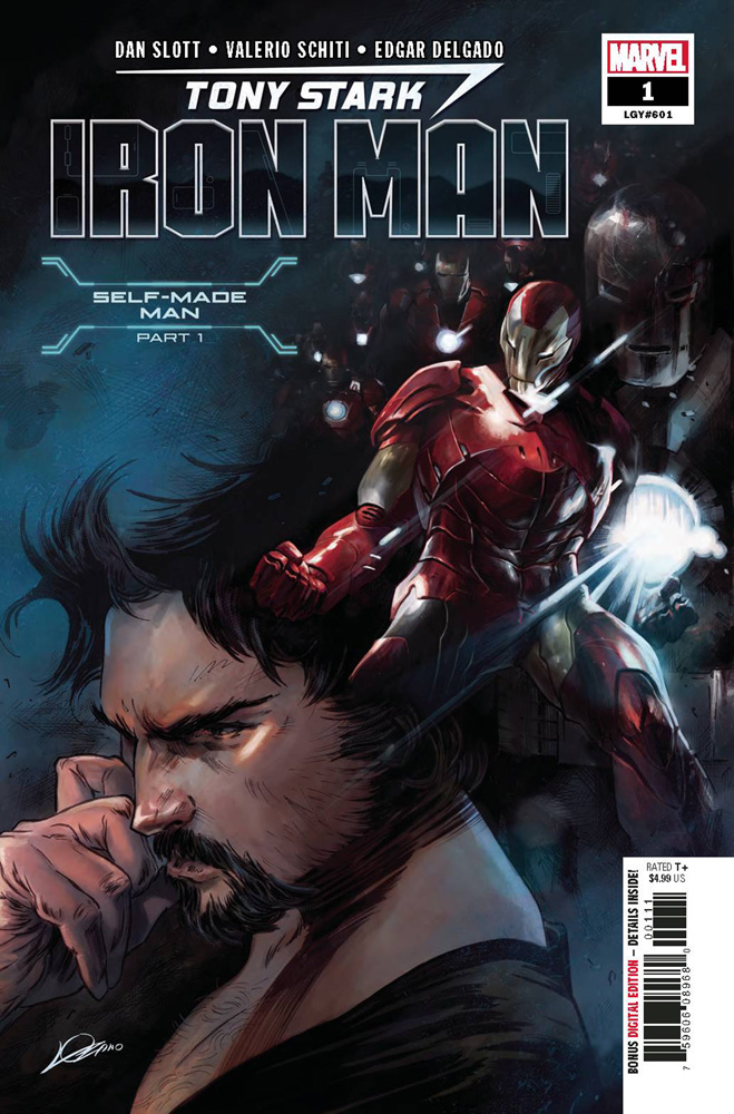 Tony Stark, Iron Man #1