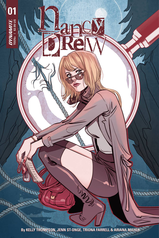 Nancy Drew #1 Marguerite Sauvage cover